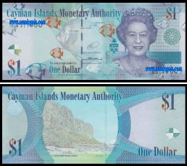 Cayman Island - 1 DOLLAR 2014