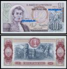 Colômbia - 10 PESOS ORO 1980