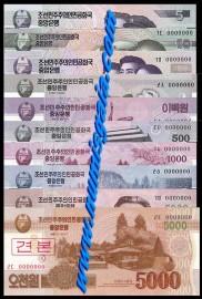 Coreia do Norte PRK-CONTUNTO (SPECIMEN)d