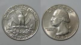 Estados Unidos América KM#A164aUS85P - QUARTER DOLLAR 1985P