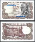 Espanha - 100 PESETAS 1970