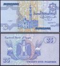 Egipto - 25 PIASTRES 2008