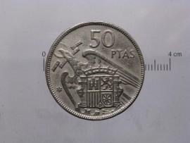 Espanha KM#788ES59a - 50 PESETAS 1959