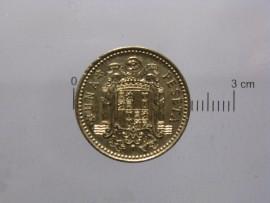 Espanha KM#796ES75b - 1 PESETA 1975