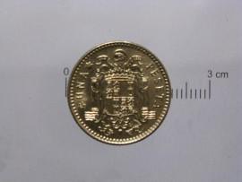 Espanha KM#796ES79 - 1 PESETA 1979