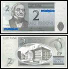 Estónia - 2 KROONI 2006