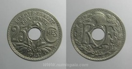 França KM#867aFR31 - 25 CENTIMES 1931