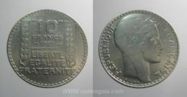 França KM#878FR29b - 10 FRANCS 1929