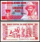 Guiné Bissau GNB50(1990)r - 50 PESOS 1990