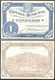 Portugal cédula MA1053 - 1 CENTAVO Câmara Municipal de GONDOMAR