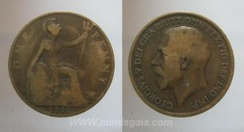 Great Britain KM#810GB15 - ONE PENNY 1915