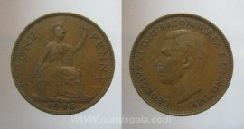 Great Britain KM#845GB46a - 1 PENNY 1946