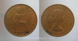 Great Britain KM#897GB65 - 1 PENNY 1965