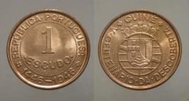 Guiné Bissau KM#7GW46t - 1 ESCUDO 1946