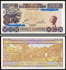 Guinea - 100 FRANCS 2012