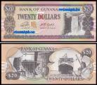 Guyana - 20 DOLLARS 2018ND