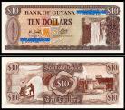 Guyana - 10 DOLLARS 1993ND