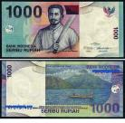 Indonésia - 1000 RUPIAH 2011