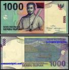 Indonésia - 1000 RUPIAH 2013