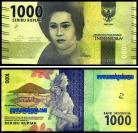 Indonésia - 1000 RUPIAH 2016
