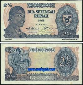 Indonésia IDN2,5(1968)d - 2,5 RUPIAH 1968
