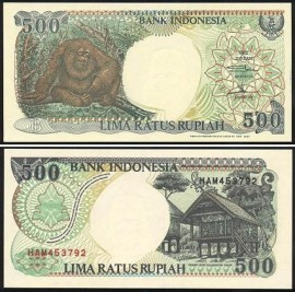 Indonésia IDN500(1997)f - 500 RUPIAH 1997