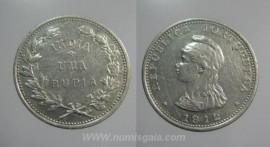 Índia KM#18INP12d - 1 RUPIA 1912
