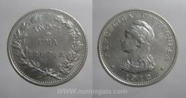 Índia KM#18INP12g - 1 RUPIA 1912