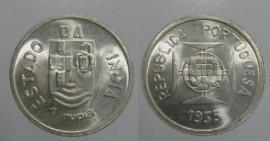 Índia Portuguesa KM#22INP35c - 1 RUPIA 1935