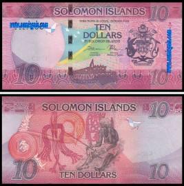 Ilhas Solomão - 10 DOLLARS 2017ND