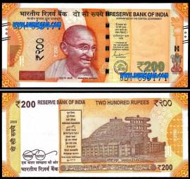 India - 200 RUPEES 2020