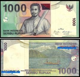 Indonésia - 1000 RUPIAH 2009