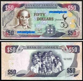 Jamaica JAM50(2012) - 50 DOLLARS 2012