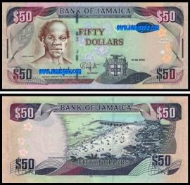 Jamaica - 50 DOLLARS 2018