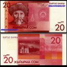 Quirguistão KGZ20(2009)d - 20 SOM (2009)