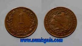 Holanda KM#107NL1900 - 1 CENT 1900