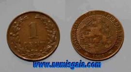 Holanda KM#131NL01 - 1 CENT 1901