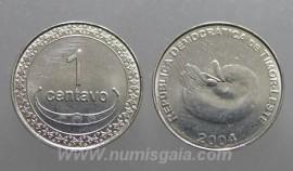 Timor Leste KM#1TP04g - 1 CENTAVO 2004