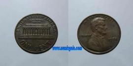 Estados Unidos América (USA) KM#201US78d - ONE CENT 1978