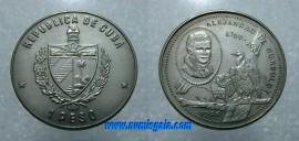 Cuba KM#283CU89 - 1 PESO 1989