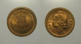 Cabo Verde KM#2CV30f - 10 CENTAVOS 1930