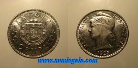 Angola KM#65AO23 - 50 CENTAVOS 1923