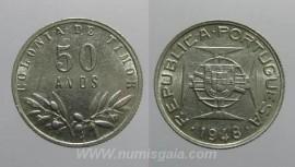 Timor KM#7TP48c - 50 AVOS 1948