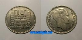 França KM#909.2FR48 - 10 FRANCS 1948