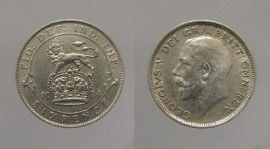 Great Britain KM#815a.1GB24 - 6 PENCE 1924