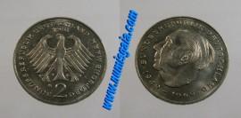 Alemanha KM#127DE81G - 2 MARK 1981G