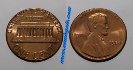 Estados Unidos América (USA) KM#201bUS84d - ONE CENT 1984
