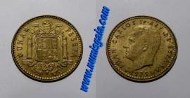 Espanha KM#806ES77e - 1 PESETA 1977