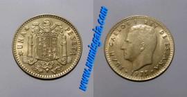 Espanha KM#806ES77g - 1 PESETA 1977