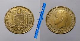 Espanha KM#806ES78u - 1 PESETA 1978
